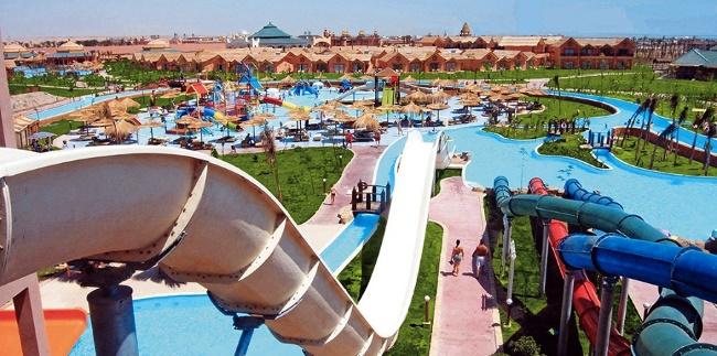 Аквапарк Альбатрос в Египте