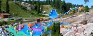 Финляндия аквапарк Серенаа Хельсинки