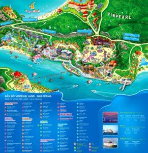 Карта Винперл Парка (Vinperl Park)