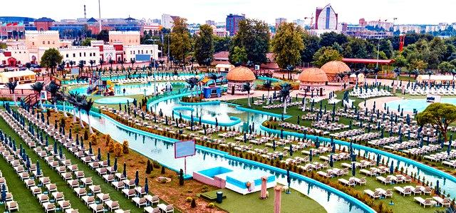 Аквапарк Минска Дримленд
