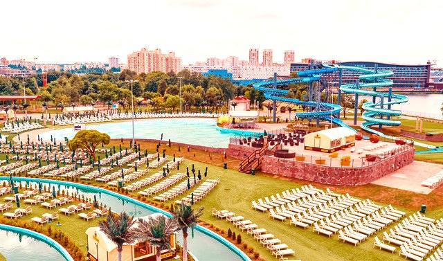 Минск аквапарк