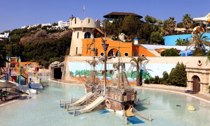 Аквапарк на острове Родос