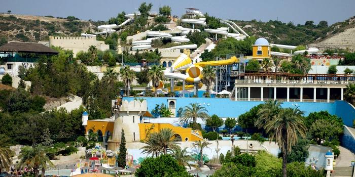 Аквапарк на острове Родос «Фалираки»