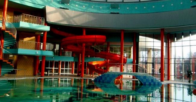 В Кобрине аквапарк
