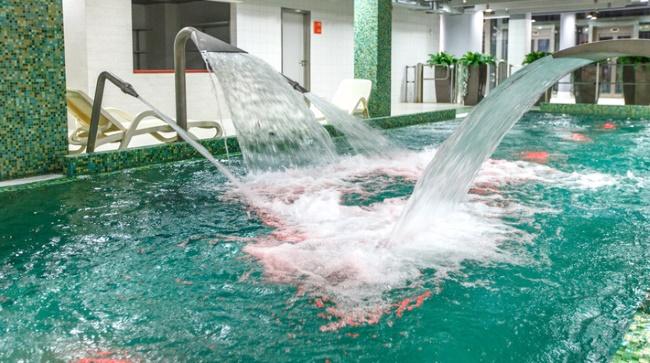 Лебяжий аквапарк в Минске