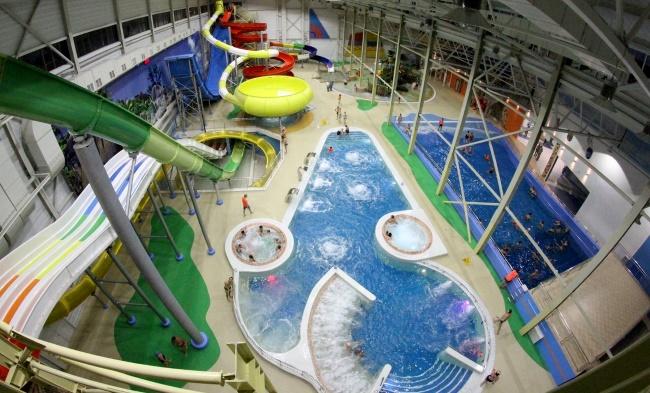Акварио – аквапарк в Омске