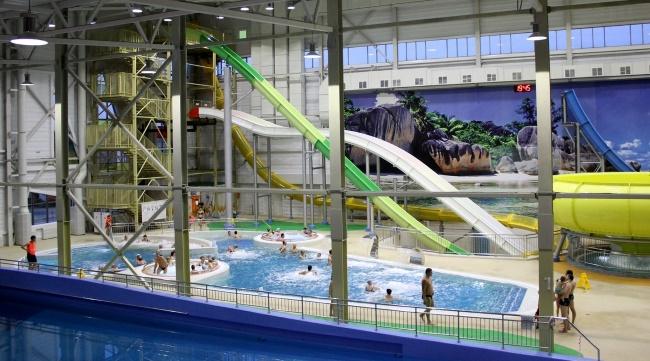 аквапарке в Омске Акварио
