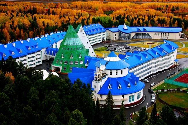 Аквапарк в Ханты-Мансийске