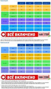 Аквапарк H2O Ростов-на-Дону (цены)