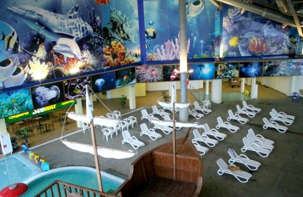 Фишка аквапарк в Воронеже