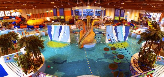 Краков аквапарк