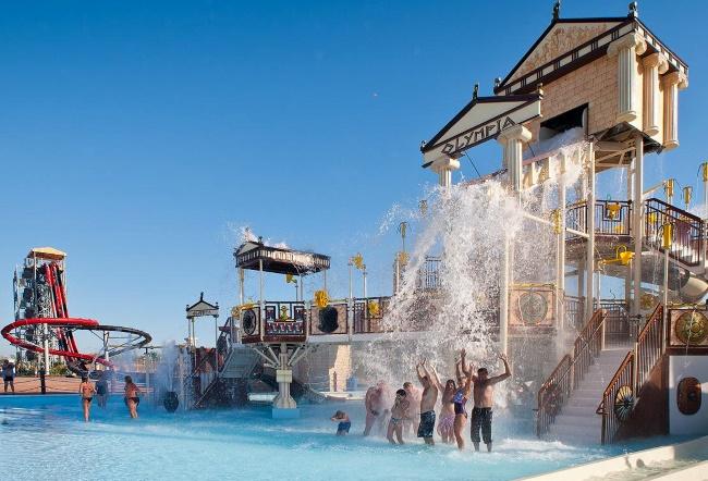 Олимпия в Анапе аквапарк