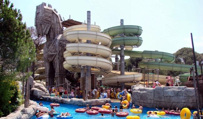 Аквапарк Троя в Турции