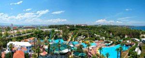 Аквапарк «Троя» в Белеке, Турция