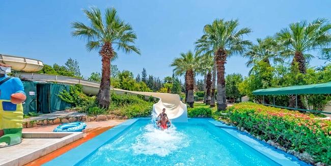 аквапарк в Турции Троя