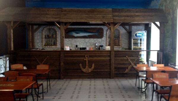 Кафе в аквапарке Кургана «АкваЛен