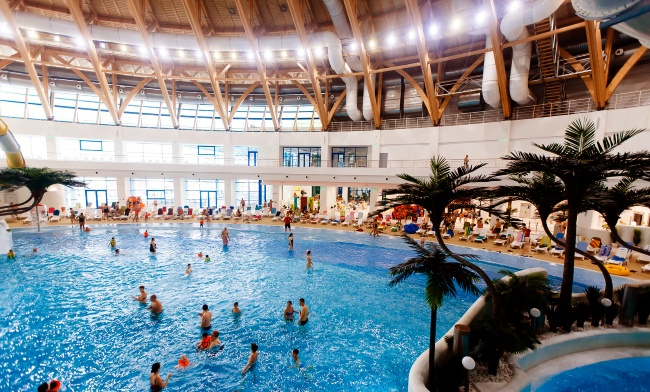 Аквапарк «Аквамир» Новосибирск