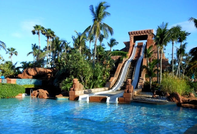 Аквапарк Aquaventure отеля Atlantis the Palm в Дубае
