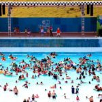 """аквапарк Паттайи """"Cartoon Network Amazone"""", волновой бассейн"""