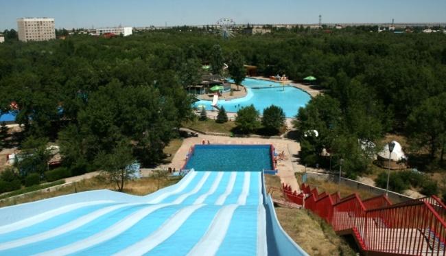 Аквапарк Капчагай в Казахстане