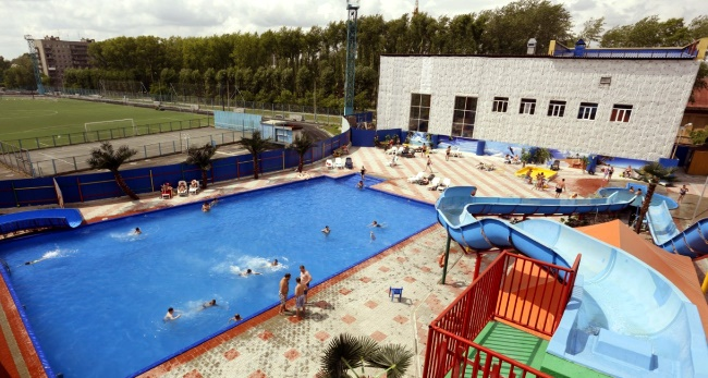 Аквапарк «Лидер-Лэнд» в Новосибирске