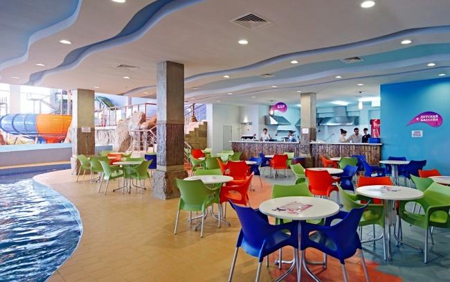 Кафе в аквапарке Горки в Рязани