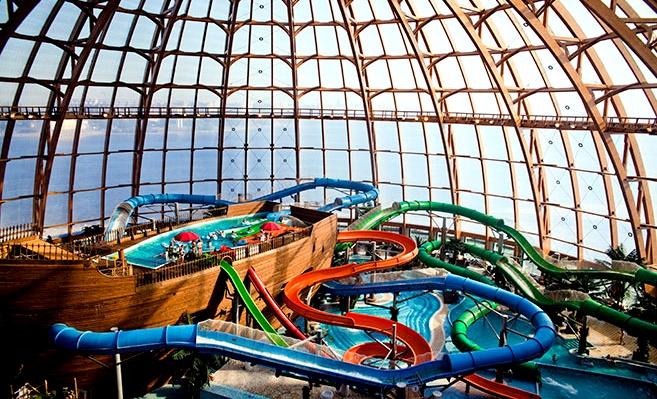 Аквапарк «Питерлэнд» Санкт-Петербург