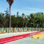 аквапарк в Испании, самая высокая горка King Khajuna