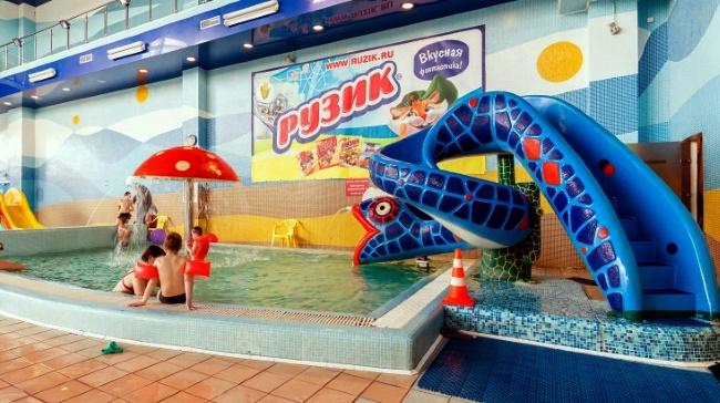 в аквапарке «Родео Драйв» в Санкт-Петербурге