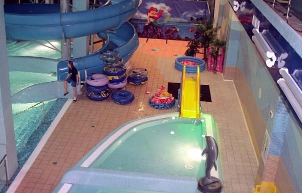 в аквапарке «Родео Драйв» в Санкт-Петербурге детский бассейн