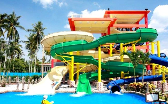 Splash-Jungle аквапарк на Пхукете в Тайланде