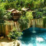 Тропические Острова аквапарк в Берлине, водопады