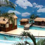 Тропические Острова аквапарк, мини-гостиница в парке