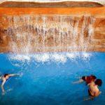 Аквапрк Виктория водопады