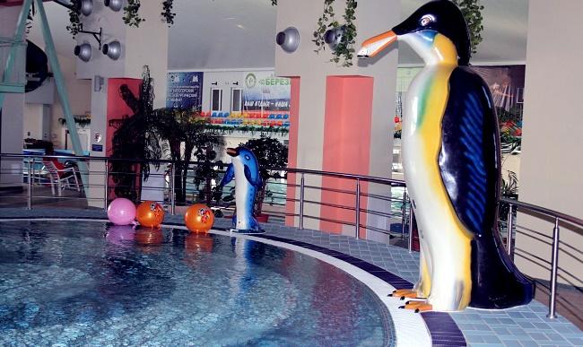 аквапарк «Водопад чудес» бассейн для малышей