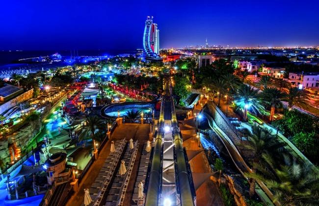 "Аквапарк ""Wild Wadi"" в Дубае"