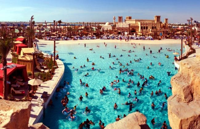 """аквапарк в Абу-Даби """"Yas Waterworld"""""""
