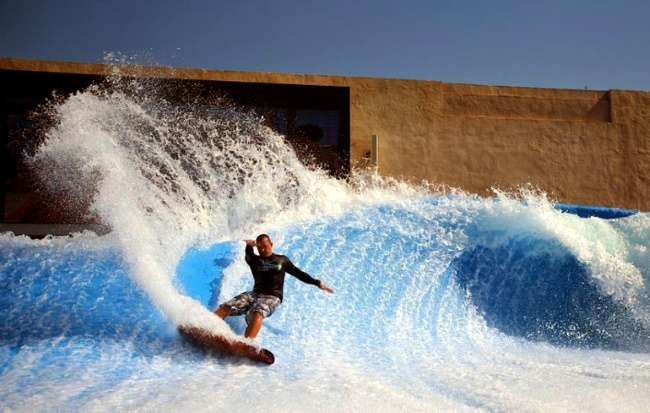 "Aquapark Абу-Даби ""Yas Waterworld"""