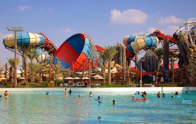 Yas Waterworld аквапарк в Абу-Даби