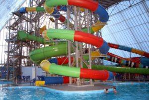 21 век Зимний аквапарк