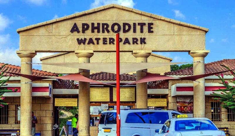 """Аквапарк """"Афродита"""" в Пафосе, Кипр"""