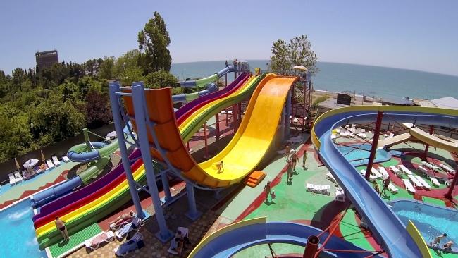 Аквапарк Гагры, Абхазия