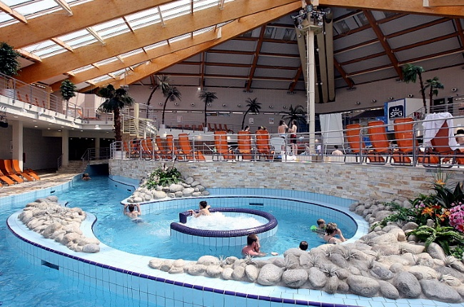 """аквапарк в Праге """"Aquapalace Praha"""""""
