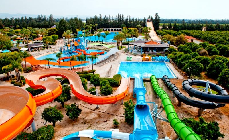 """Аквапарк """"Fasouri Watermania"""" в Лимассоле, Кипр"""