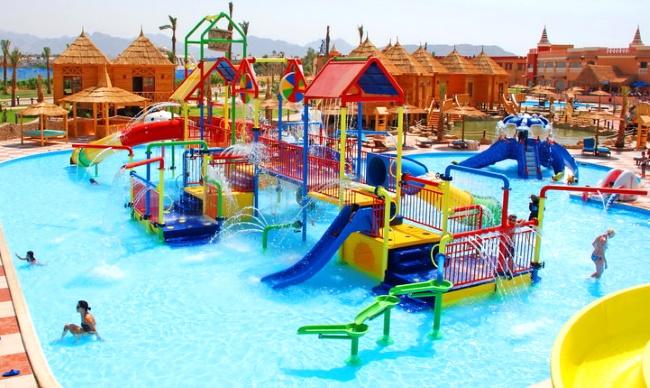 Peackalbatros Sea World Resort детский бассейн