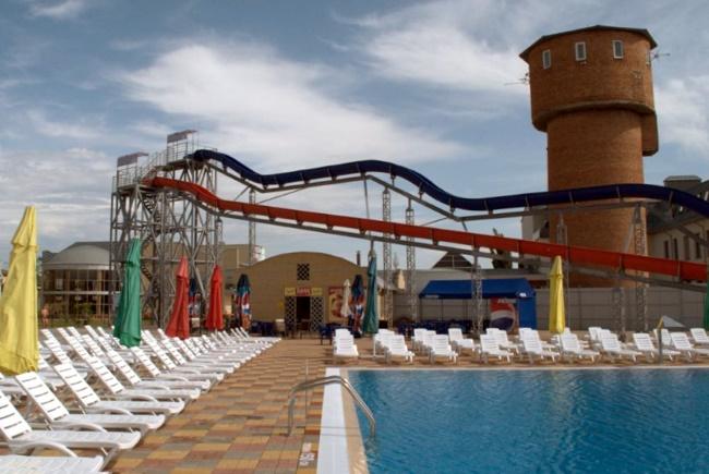 горки в аквапарке в Гулькевичи для детей и взрослых