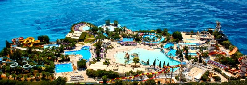 """Аквапарк """"WaterWorld"""" в Айя-Напа, Кипр"""
