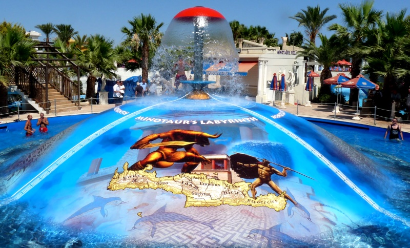 """Аквапарк в Айя-Напа """"WaterWorld"""", Кипр"""