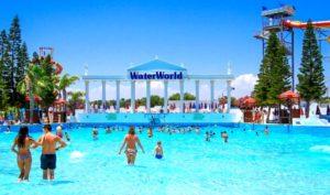 """Аквапарк """"WaterWorld"""" в Айя-Напа"""