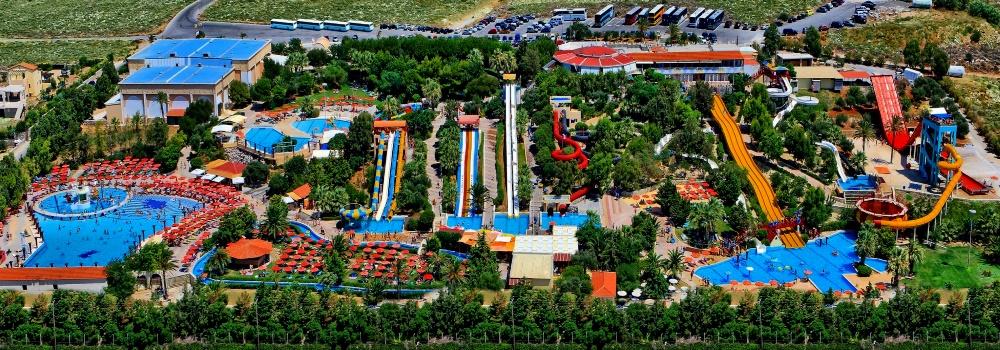 """Аквапарк """"Water City"""" на Крите, Греция"""